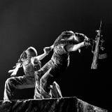 中国专业舞蹈演员 库存图片