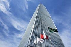 中国世界贸易中心塔3,北京,中国 免版税库存照片