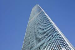 中国世界贸易中心塔3,北京,中国 免版税图库摄影