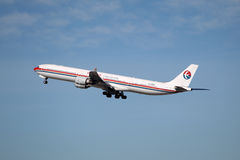 中国东空中客车A340 库存图片