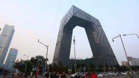 中国中央电视台CCTV在北京 股票录像