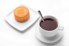 中国中间秋天节日食物 传统的mooncakes 免版税库存照片