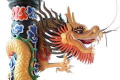 中国五颜六色的龙 免版税库存图片