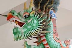 中国五颜六色的龙 库存照片