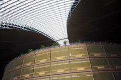 中国亚洲,北京,中国国家大剧院,室内 免版税图库摄影