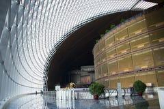 中国亚洲,北京,中国国家大剧院,室内 图库摄影