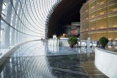 中国亚洲,北京,中国国家大剧院,室内 库存照片
