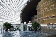 中国亚洲,北京,中国国家大剧院,室内 库存图片