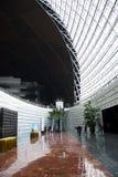 中国亚洲,北京,中国国家大剧院,室内 免版税库存照片