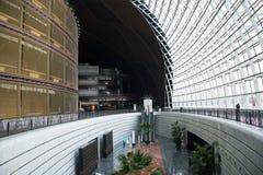 中国亚洲,北京,中国国家大剧院,室内 免版税库存图片