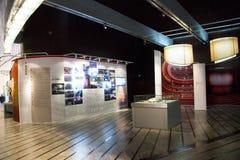 中国亚洲,北京,中国国家大剧院,展览室,陈列 库存图片