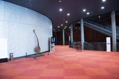 中国亚洲,北京,中国国家大剧院,现代建筑学,内部 免版税图库摄影