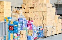 中国产品大商店 免版税图库摄影