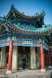 中国亭子 免版税图库摄影