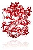 中国人剪切纸张 库存图片