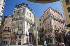 中国人商店在里斯本 免版税库存图片