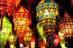 中国人四川灯笼在成都,中国 免版税图库摄影