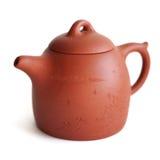 中国人宜兴黏土茶罐 免版税图库摄影