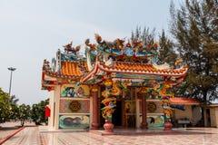 中国人寺庙 库存图片
