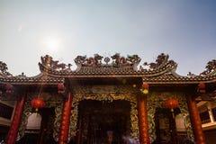 中国人寺庙 免版税图库摄影