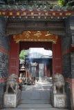 中国人挂接tai寺庙 库存图片