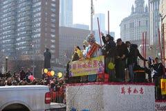 2015中国人旧历新年游行176 图库摄影