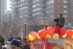2015中国人旧历新年游行185 库存照片