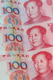 中国人民币元 免版税图库摄影