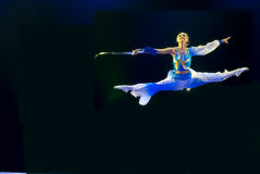 中国人现代舞蹈的组 免版税图库摄影