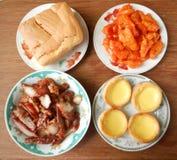 中国人自助餐 库存照片