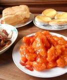 中国人自助餐 免版税库存照片