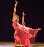 中国人舞蹈伙计 库存照片