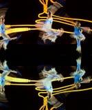 中国人舞蹈组 库存图片