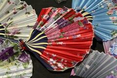 中国人色的和装饰的爱好者 库存照片