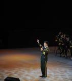 中国人著名民歌手Wang红卫theFamous和classicconcert 免版税库存图片