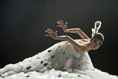 中国人著名舞蹈家杨李平 免版税库存图片