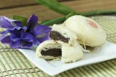 中国人蛋糕 库存图片