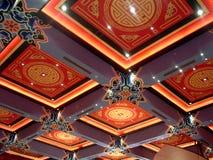 中国人设计屋顶 免版税图库摄影