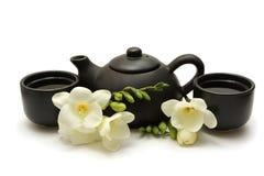中国人集合茶 图库摄影