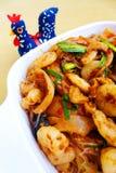 中国人Szechuan热的辣海鲜盘 免版税图库摄影