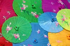 中国伞 免版税图库摄影