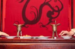 中国传统婚礼 库存照片