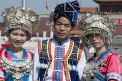 中国传统服装 免版税库存图片