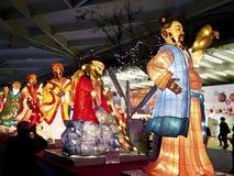 中国传统灯会 免版税库存图片
