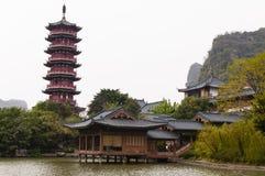 中国传统景观 库存照片