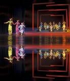 中国传统民间有助音乐会表现 库存图片