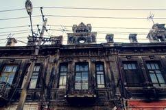中国传统老大厦 免版税库存照片