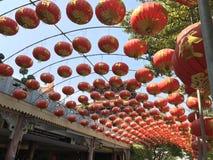 中国佛教寺庙在曼谷 免版税图库摄影