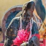 中国修士雕象 库存图片
