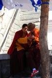 中国修士 免版税库存照片
